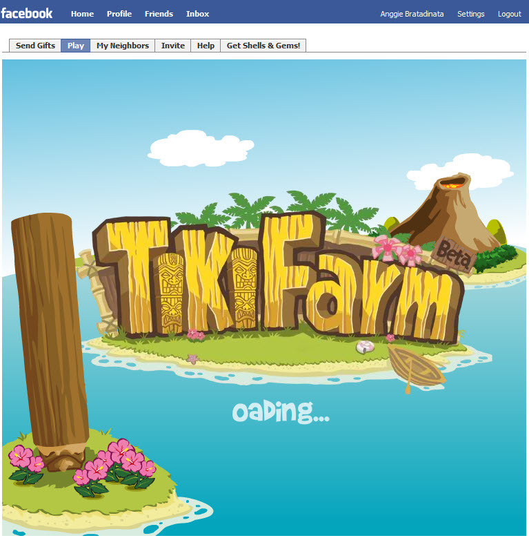 Tiki Farm Facebook Game